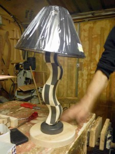 07 Unfinished Lamp